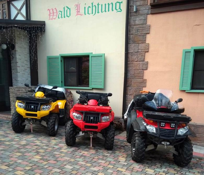 Квадроциклы для гостей