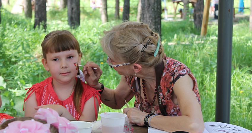 Фотоотчет по детскому празднику